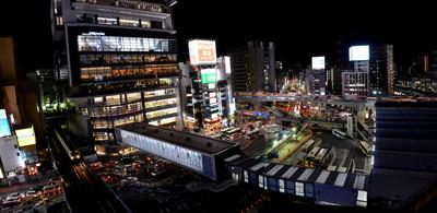 Higashiguchi_panorama_yoru2